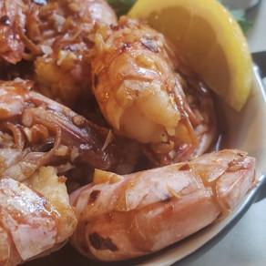 Sauteed Spicy Garlic Shrimp