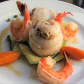 RECIPE: Stuffed Sole Paupiette w/Shrimp & Walnut Stuffing