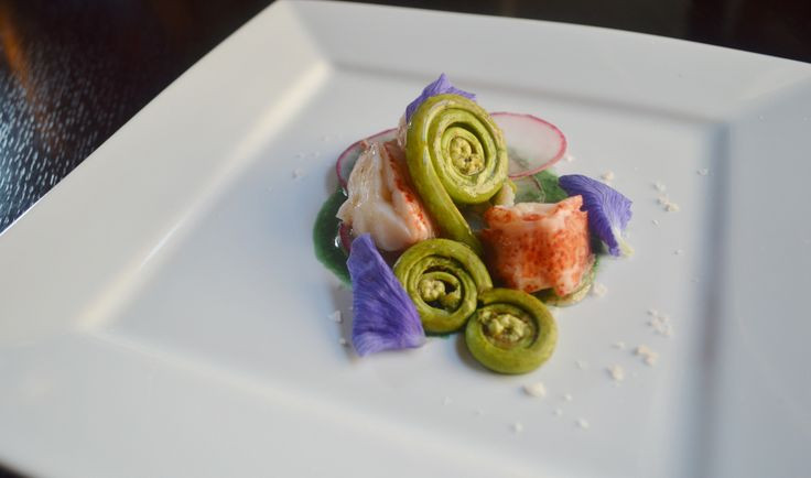 Lobster and Fiddleheads