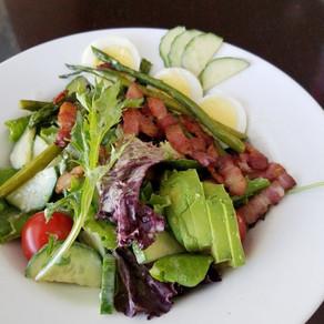 RECIPE: Bacon and Egg Salad with Bacon Vinaigrette