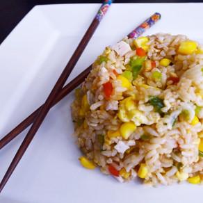 Unused Vegetables? Make Fried Rice