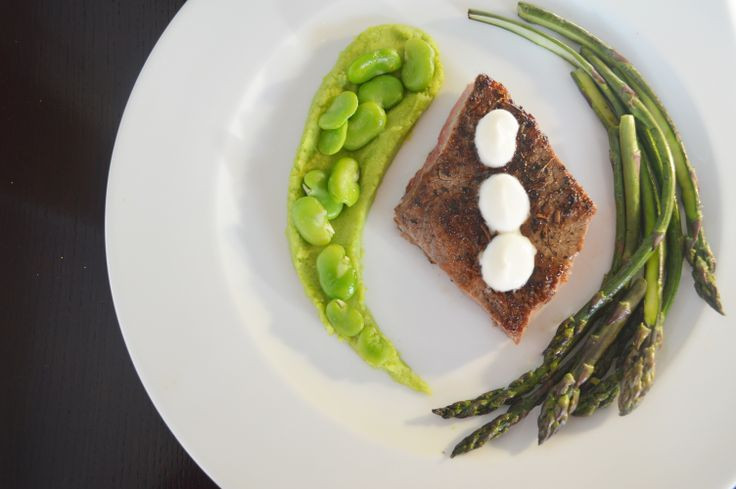 Herb-rubbed Steak