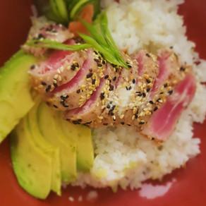 Sesame-Crusted Ahi Tuna Bowl