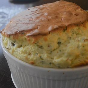 RECIPE: Romanesco & Purple Cauliflower Souffle