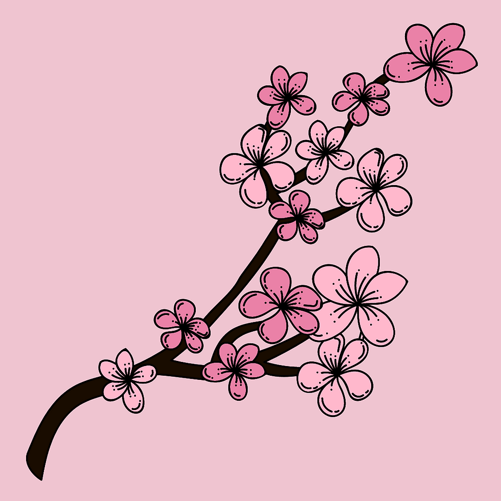 Pink Floral Happy Mother's Day Sale Inst