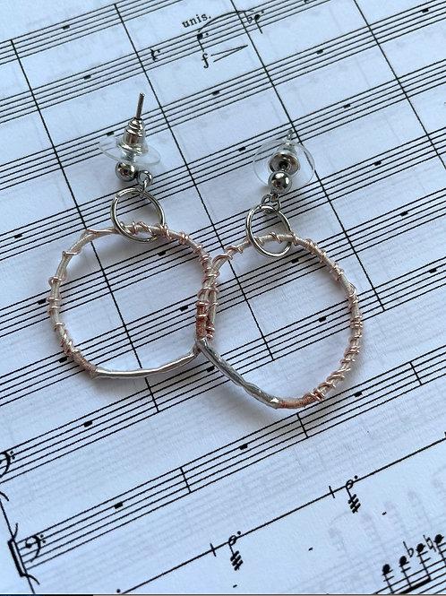 Zither Earrings