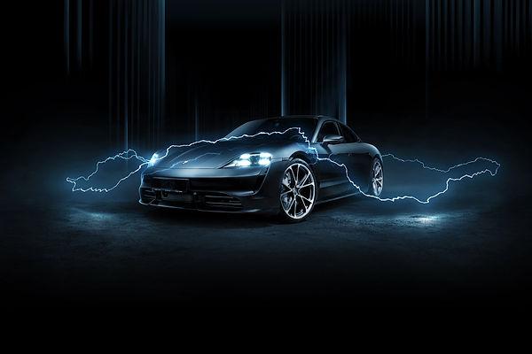 Noleggio Porsche Tycan