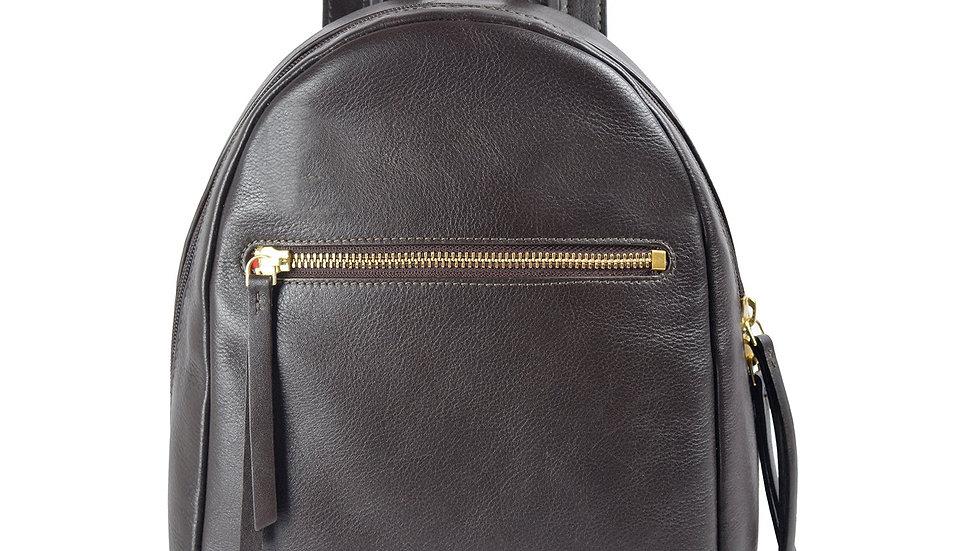 Kiwi Small Leather Backpack