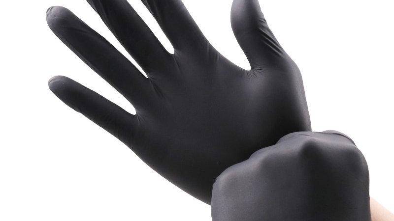 FOODAllergy FreeDisposable Work Safety Gloves 100% Nitrile Gloves Mechanic Glove