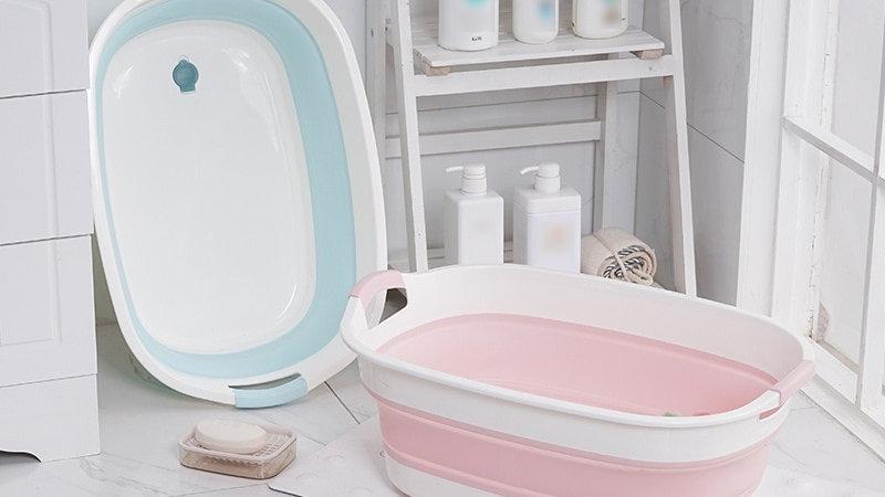folding baby bath  Washing Non-Slip Bathtub Security Spa Children Kids Bath Tub