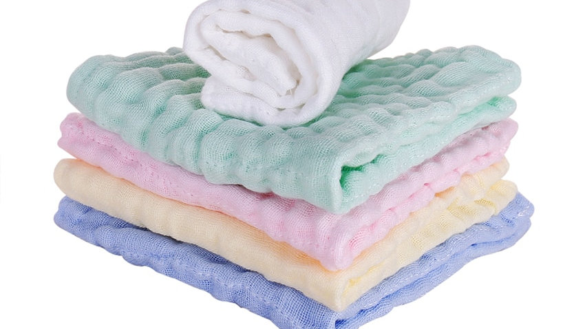 5pc Cotton Muslin Cotton Gauze Baby Bath Gift Products for Kids Blanket for Baby