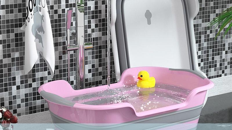 baby  Non-Slip Cat Dog Bath Tubs Safety Children Tub Bathroom Accessorie