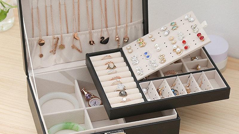 Storage Box Large Capacity Jewlery Display Earring Holder Gift Packaging