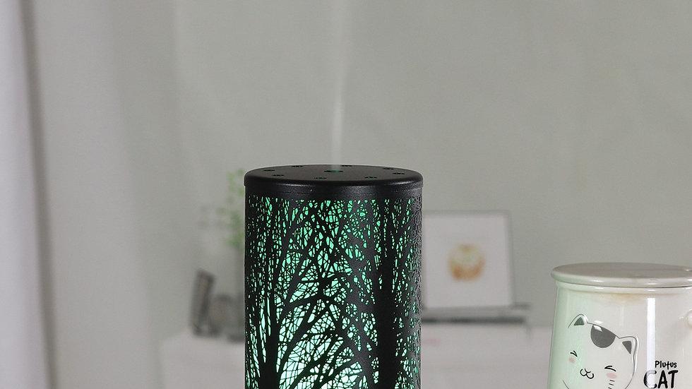 Retro Iron  Aromatherapy Cool Mist Humidifier Wax Burner Difusor Aromaterapia