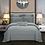 Thumbnail: Duvet Quilt  Comforter Cover Queen King 4Pcs Bedding Set Bed Sheets Fitted Sheet