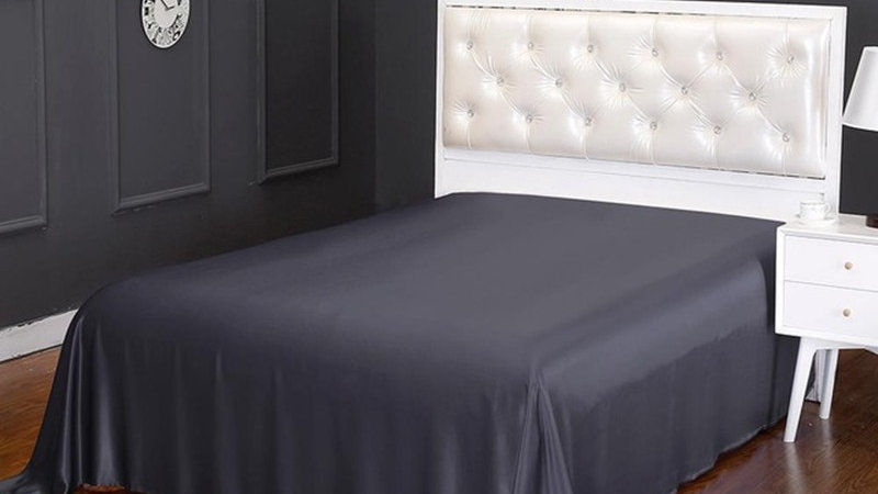Pure 100% 22Dye Flat Sheet Seamless Luxury Queen King Home Textile Free Shipping