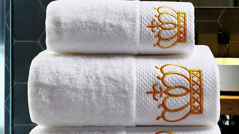 IMPERIAL Set Face Towels Bath Towels for Adults Washcloths Absorbent Hand Towel
