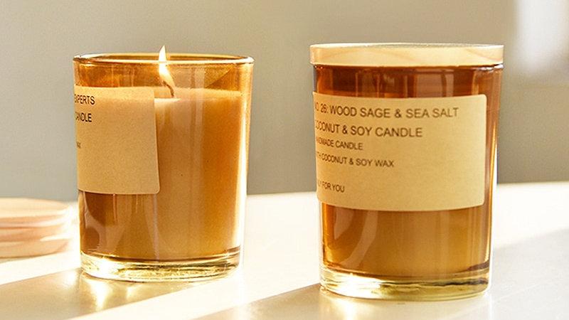 Candle Aromatherapy Handmade Velas Aromaticas Home Decor DE50LZ