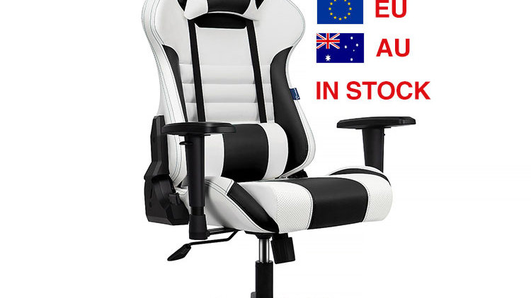 QUALITY RacingGames Racing Chair for Gamer With or Without Footrest Chair Gaming