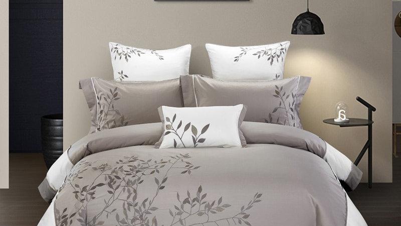 Duvet Quilt  Comforter Cover Queen King 4Pcs Bedding Set Bed Sheets Fitted Sheet