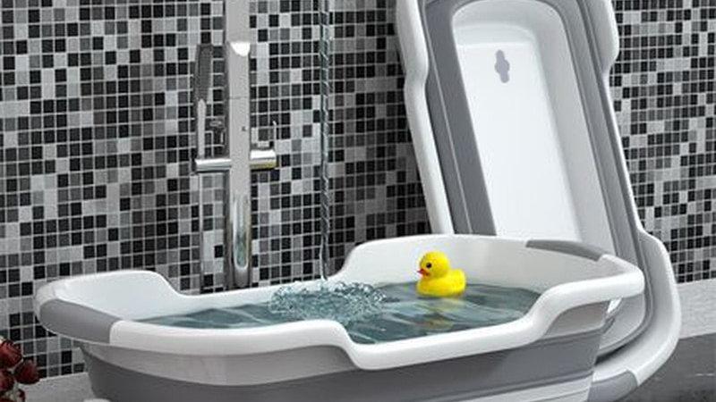 folding baby or pet bath Dog Bath Tubs Newborn Supplies Bathroom Accessorie