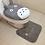 Thumbnail: Animal  Cover WC Seat Cushion Frame Bath Toilet Cover 3 Pieces Toilet