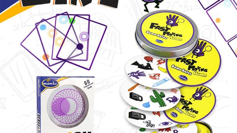 Logic Game Swis Logic game kids Playing Cards Spot Board Games Toys for Children