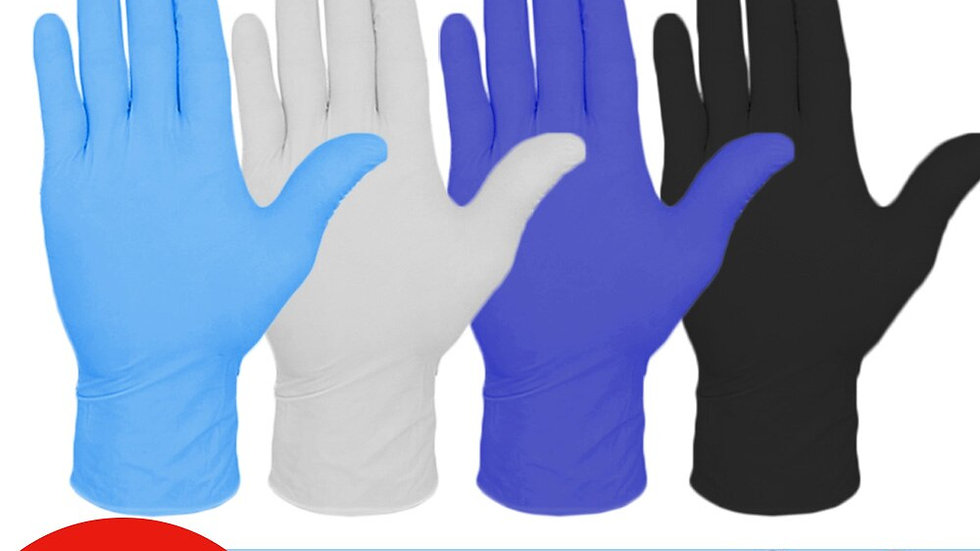 WORK DISPOSABLE Household Cleaning Laboratory Nail Art Tattoo Anti-Static Glove