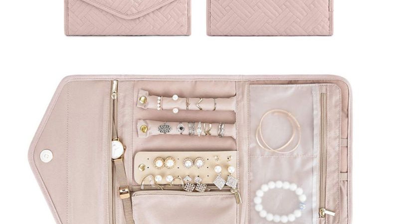 Jewelry Case for Journey-Rings Necklaces Jewerly Storage Bag