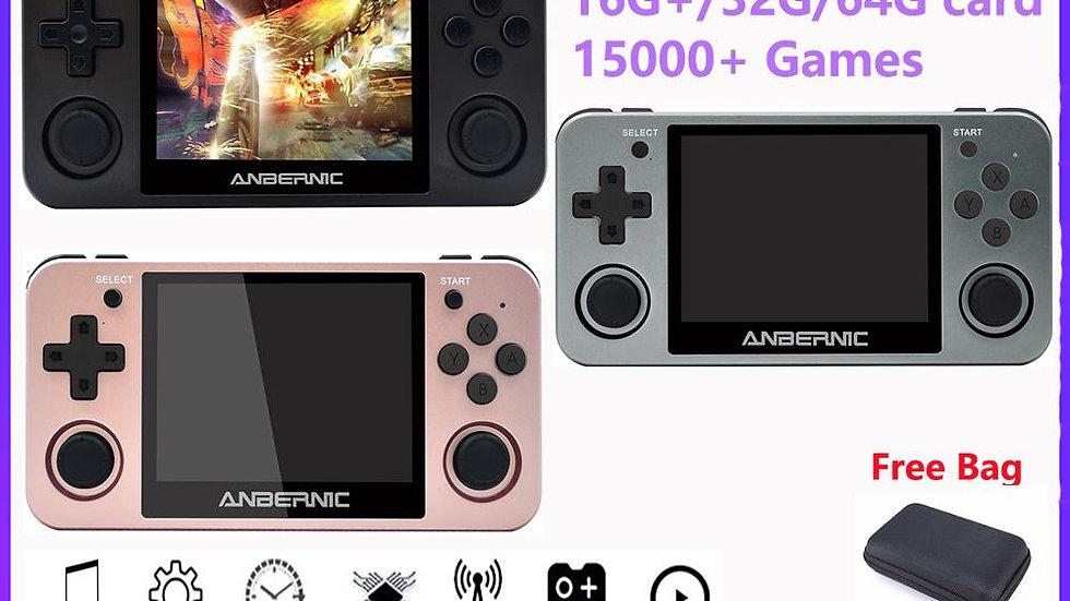 videogamesConsole Ps1 Gam 64bit Opendingux 3.5 Inch 2500+ Games RG350 Child Gift