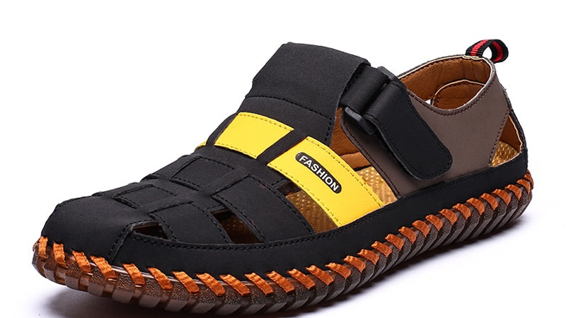 SUMMER MENS  Sandles Casual Breathable Fashion Outdoor Plus Size Closed Toe