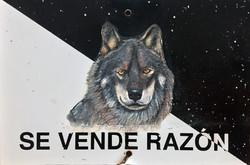 """""""Se Vende Razón"""", 30 X 20 cm.,Técnica Mixta sobre lamina de metal, 2018."""