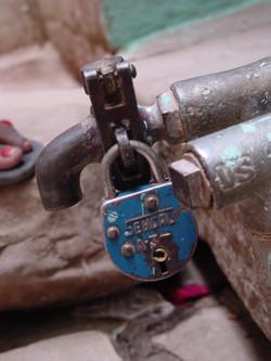 Locked Water.