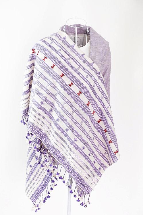 Lilac Kala Cotton Shawl