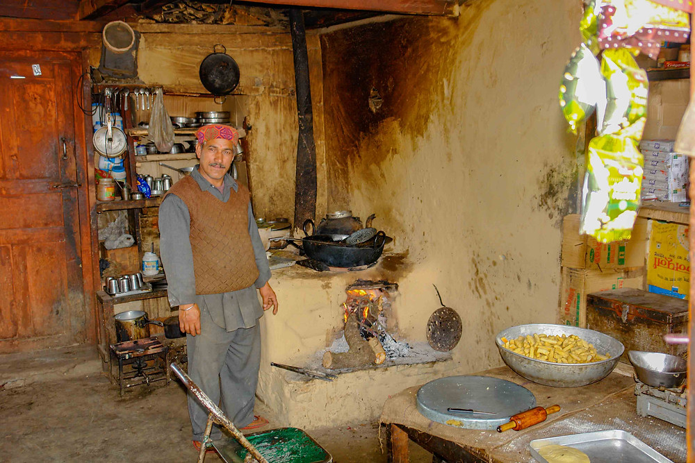 A remote Dhaba in the Spiti Valley