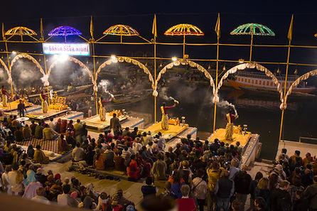 Ganga Aarti Ceremony at Rishikesh.jpeg