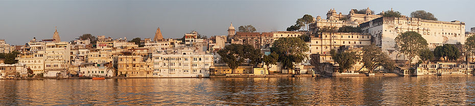 Udaipur from Lake Pichola