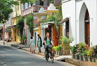 Streets of Pondicherry
