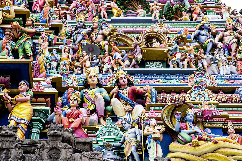 Kapaleeshwar Temple with its magnificent carvings