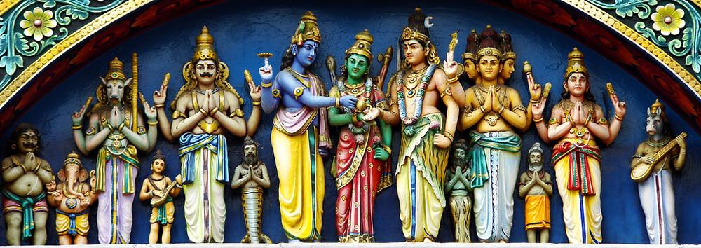 Carvings on Meenakshi Temple, Madurai