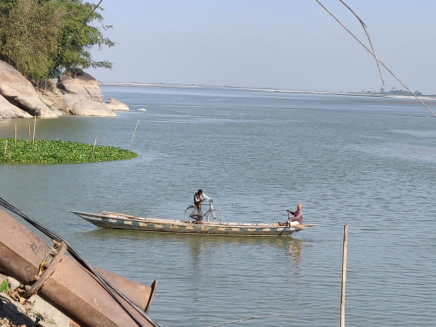 Brahmaputra river crossing