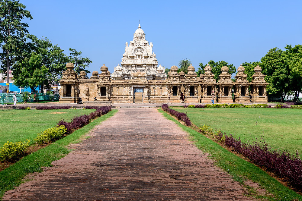 Kailashanatha Temple the oldest structure in Kanchipuram