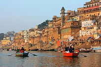 Varanasi From The Ganges River by Amanda
