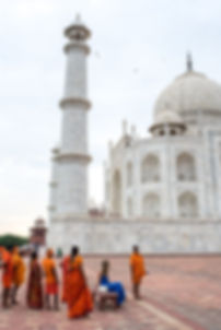 Early Morning at the Taj Mahal - STACIE