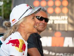 Toni Hasler und Natascha Badmann