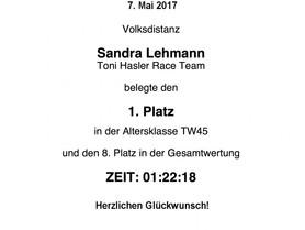Sandra rockt Triathlon Rheinfelden