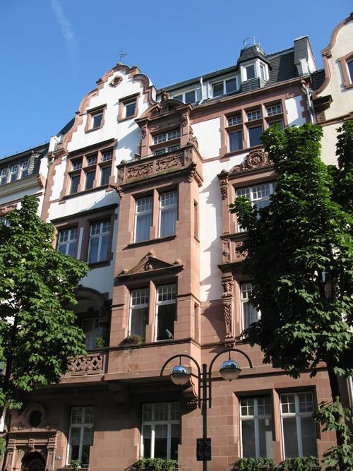 Praxis Berger Straße von außen