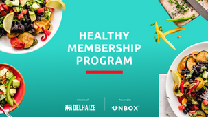 Delhaize and Unbox launch the Healthy Membership Program for companies and organizations