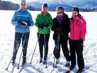 Girls XC Ski