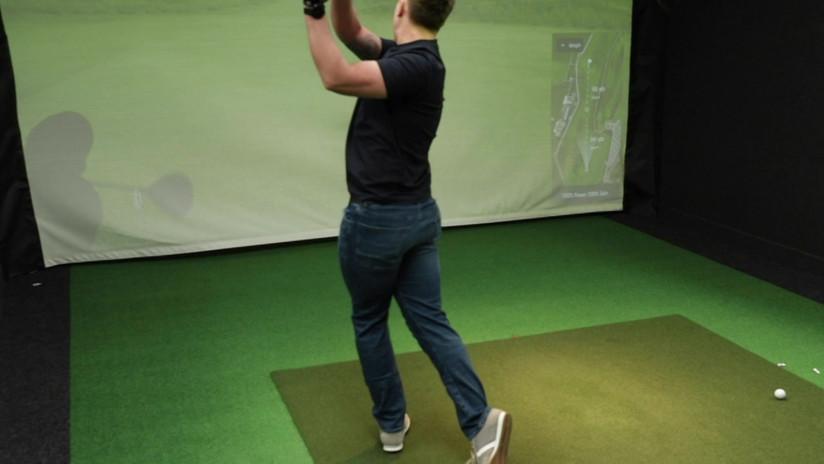 Edinburgh Indoor Golf Video